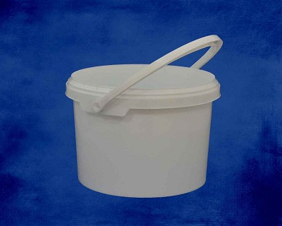 3 Litre White Bucket