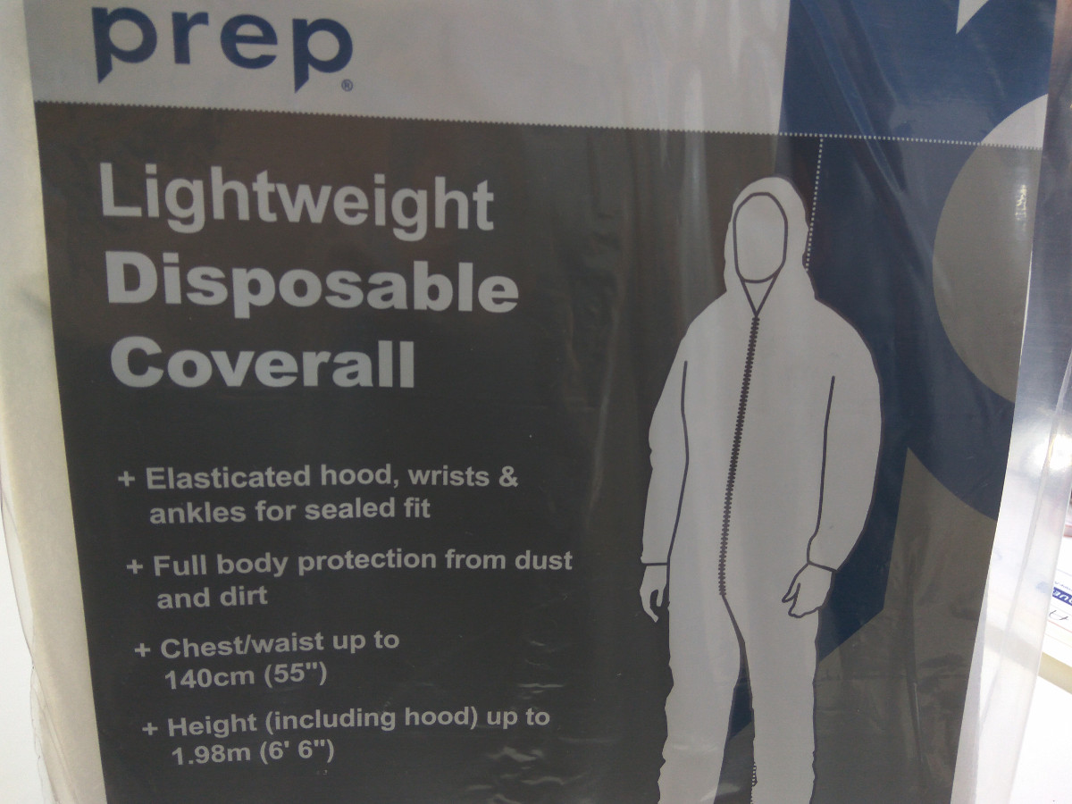 Lightweight Disposable Coverall